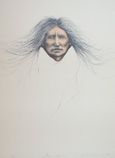 Teton Woman 1988 Limited Edition Print - Frank Howell