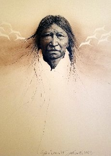 Sioux Dreams AP 1983  Limited Edition Print by Frank Howell