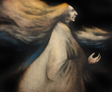 Wind Woman 1981 Limited Edition Print - Frank Howell