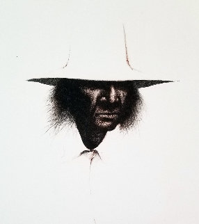 Reservation Hat AP 1974  Limited Edition Print by Frank Howell