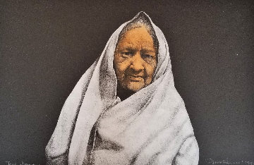 Taos Woman 1990 AP Limited Edition Print by Frank Howell