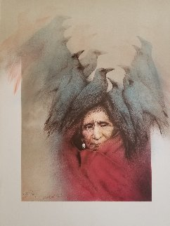 Crow Dreamer AP 1981 Limited Edition Print by Frank Howell