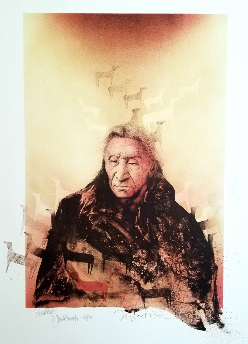 Fifty From the Robe AP 1980 Limited Edition Print by Frank Howell