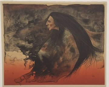 Lost Warrior AP 1984 Limited Edition Print by Frank Howell