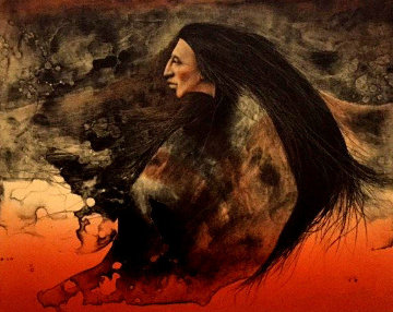 Lost Warrior AP 1984 Limited Edition Print - Frank Howell
