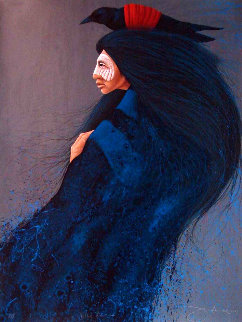 Blue Raven 1994 Limited Edition Print - Frank Howell