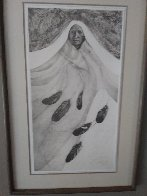 Ghost Dancer 1985 Limited Edition Print by Frank Howell - 2