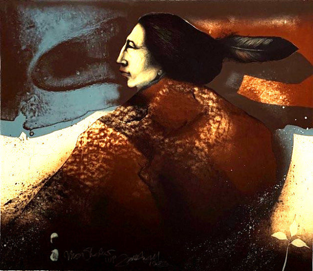 Moon Shadow 1983 Limited Edition Print by Frank Howell