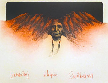 Whispers 1981 - WP Limited Edition Print by Frank Howell