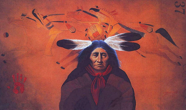 Grandfather's Echoes 1995 Limited Edition Print by Frank Howell