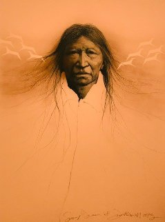 Sioux Dream 1983 Proof Limited Edition Print - Frank Howell