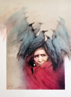 Crow Dreamer 1981 Proof Limited Edition Print - Frank Howell