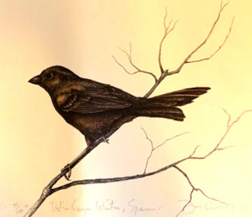 Dalton Canyon Winter Sparrow HC 1994 Limited Edition Print - Frank Howell