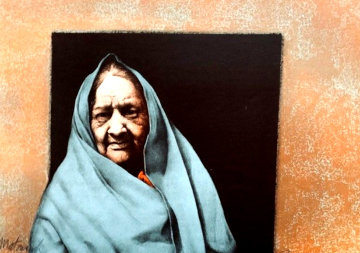 Taos Matriarch AP 1979 Limited Edition Print - Frank Howell