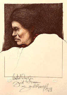 First Woman AP 1981 Limited Edition Print - Frank Howell