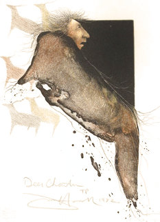 Deer Chanter AP 1981 Limited Edition Print - Frank Howell
