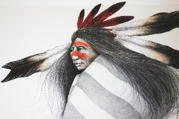 Pine Ridge Dancer 1991 Limited Edition Print - Frank Howell
