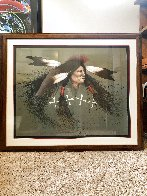 Oglala Warrior 1991 Limited Edition Print by Frank Howell - 2