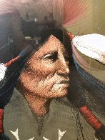 Oglala Warrior 1991 Limited Edition Print by Frank Howell - 3
