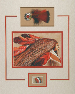 Wind Warrior 1987 Limited Edition Print by Frank Howell