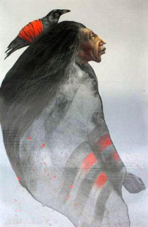 Lakota Sisters 1984 Limited Edition Print by Frank Howell