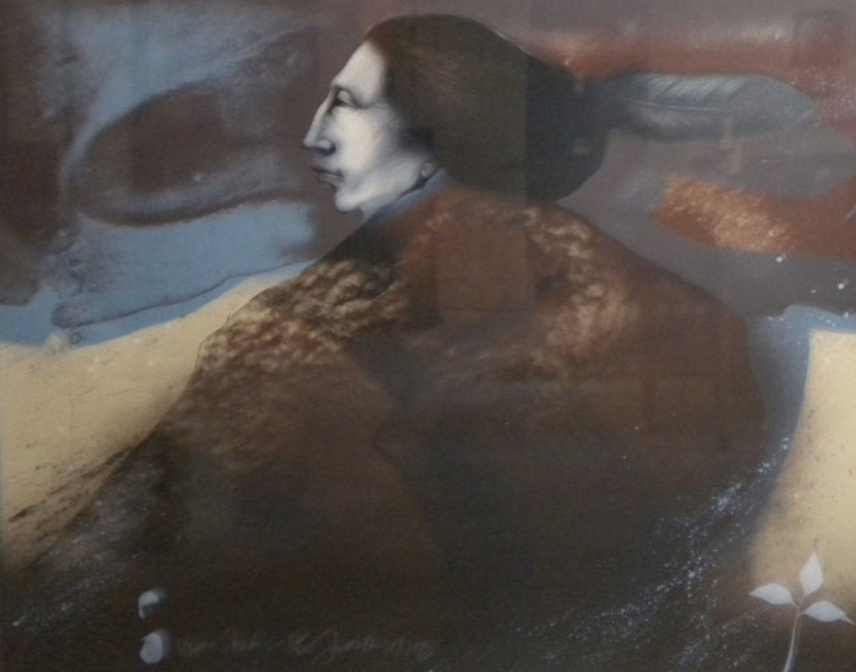 Moon Shadow 1985 Limited Edition Print by Frank Howell