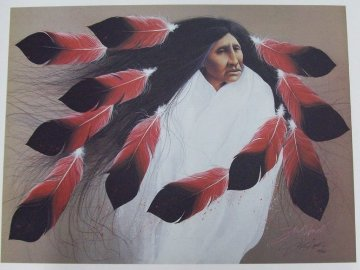 Harvest Ceremony 1996 Limited Edition Print by Frank Howell