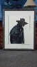 Walks Alone AP 1974 Limited Edition Print by Frank Howell - 2
