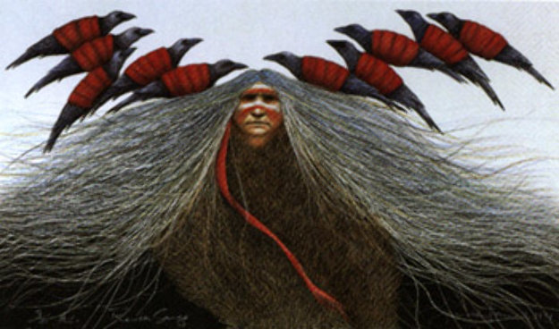 Raven Songs 1991 Limited Edition Print by Frank Howell