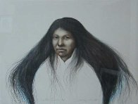 Lakota Summer AP 1985 30x38 Super Huge  Limited Edition Print by Frank Howell - 0