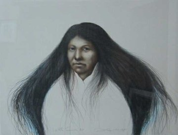Lakota Summer AP 1985 30x38 Super Huge  Limited Edition Print - Frank Howell