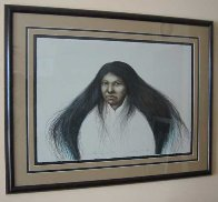 Lakota Summer AP 1985 30x38 Super Huge  Limited Edition Print by Frank Howell - 1