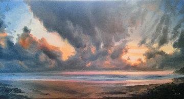 Manzanita Vista 2008 36x72 Original Painting - Patrick Howe