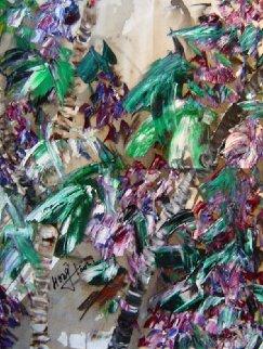 Untitled Abstract Painting 2008 30x25 Original Painting - Hong Tao Li