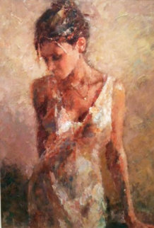 In the Studio II Embellished Limited Edition Print by Hua Chen
