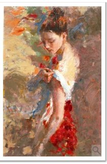 Serenity Embellished AP 2004 Limited Edition Print by Hua Chen