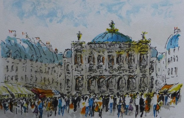 Crowded Afternoon 1996 Limited Edition Print by Urbain Huchet