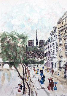 Notre Dame 1999 Limited Edition Print by Urbain Huchet
