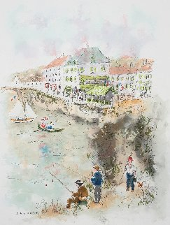 Sunday in Ile De France 1999 Limited Edition Print - Urbain Huchet