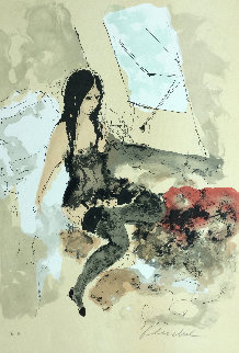 Nude By Window Limited Edition Print by Urbain Huchet