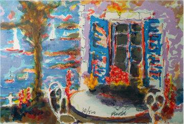Villa Sur l'Aren 1960  Limited Edition Print - Urbain Huchet