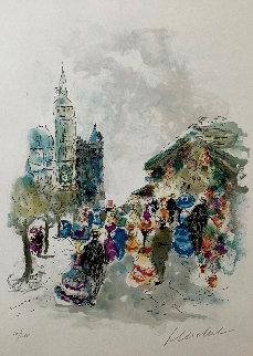 Parisian Afternoon Limited Edition Print - Urbain Huchet
