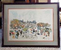Montmartre Limited Edition Print by Urbain Huchet - 1
