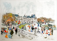 Montmartre Limited Edition Print by Urbain Huchet - 2