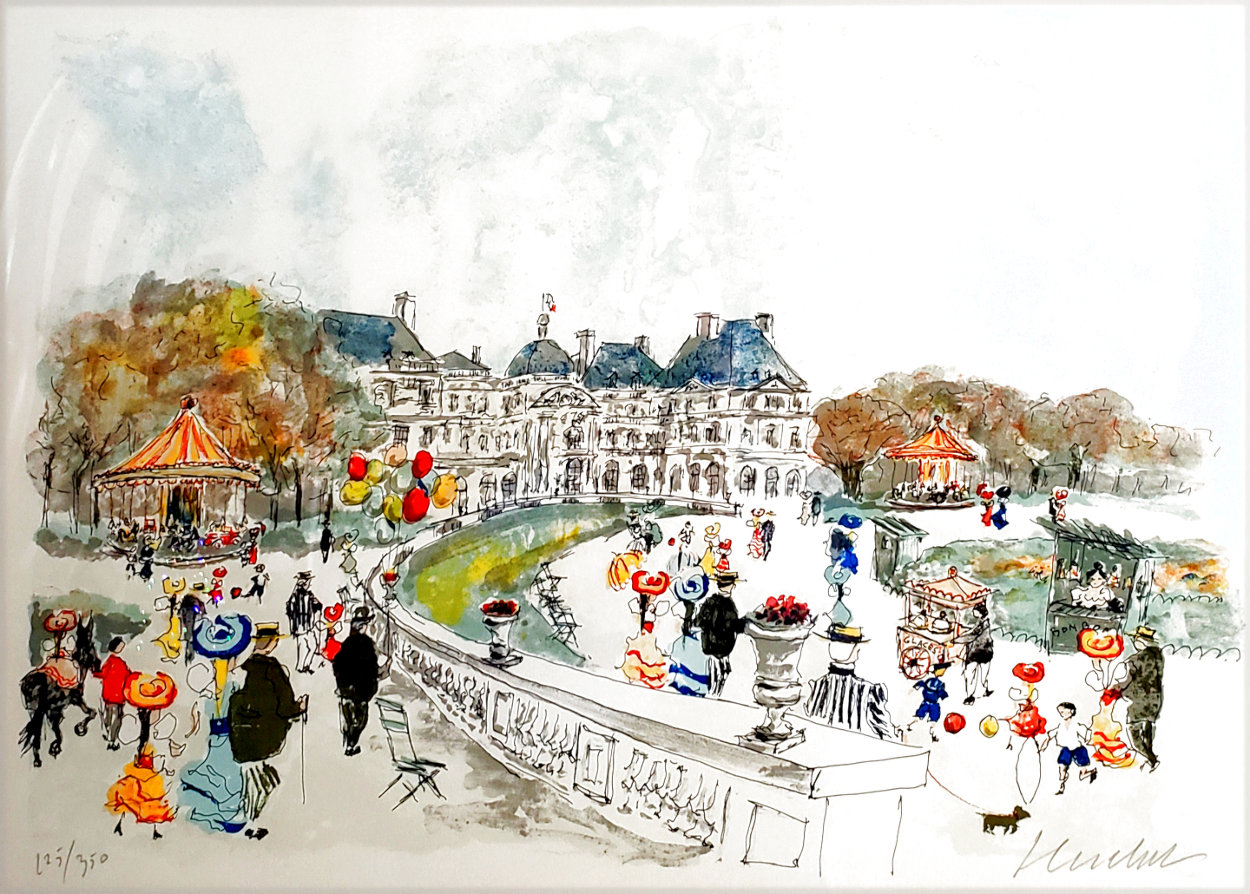 Montmartre Limited Edition Print by Urbain Huchet