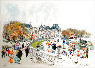 Montmartre Limited Edition Print by Urbain Huchet - 0