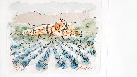 Lavender Field in Florence Limited Edition Print by Urbain Huchet - 1