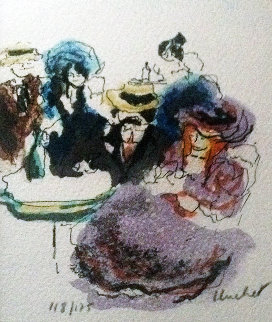 Cafe Limited Edition Print by Urbain Huchet