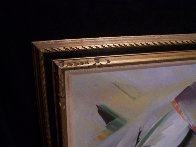 Moving Shapes 1960 37x31 Original Painting by Huertas Aguiar - 2