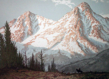 Mountain Majesty Limited Edition Print by Huertas Aguiar